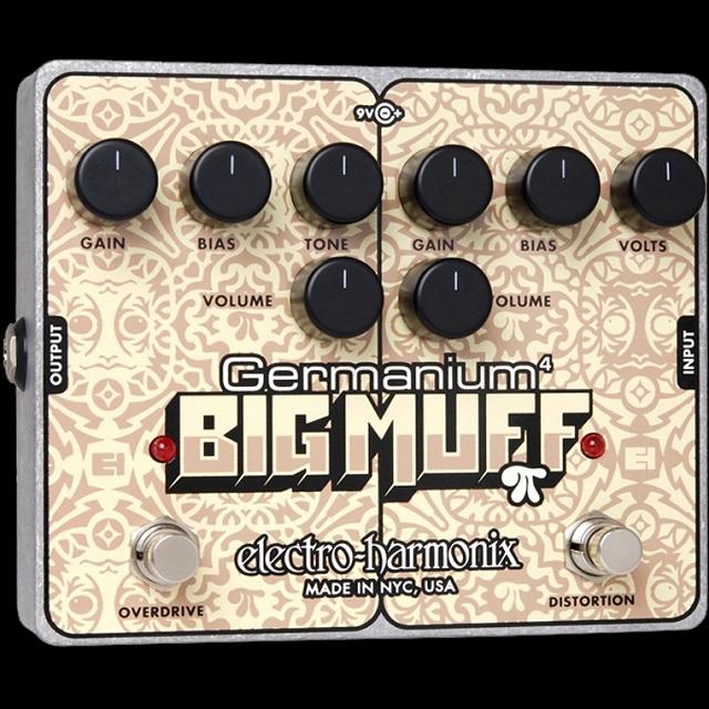 electro-harmonix Germanium 4 Big Muff Pi【数量限定特価】