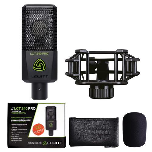 LEWITT LCT 240 Pro ValuePack Black【お得なバリューパックに今なら更にポップフィルタープレゼント!】