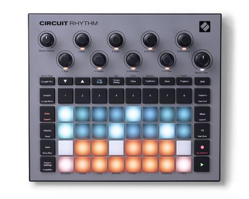 novation CIRCUIT RHYTHM【2021年夏発売ご予約受付中】