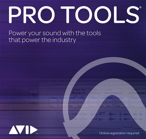 Avid Pro Tools サブスクリプション(1年) 新規購入 アカデミック版 学生/教員用 (適用した日から1年間延長)