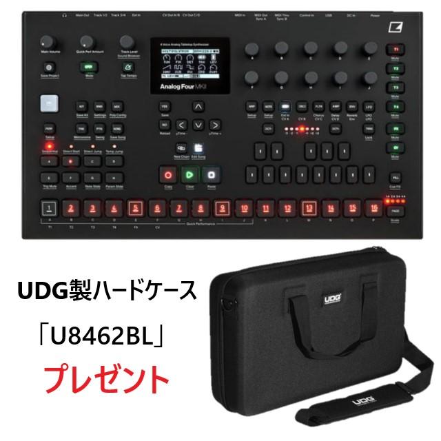 Elektron Analog Four ATS-4 MK II【UDG製ハードケースプレゼント:即納可能】