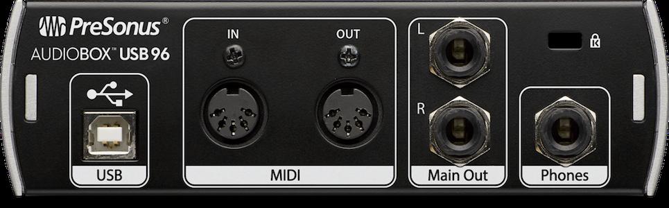 PreSonus AudioBox USB 96【開封品アウトレット特価】