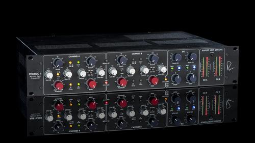 Rupert Neve Designs Portico II Master Buss Processor 5254 Black