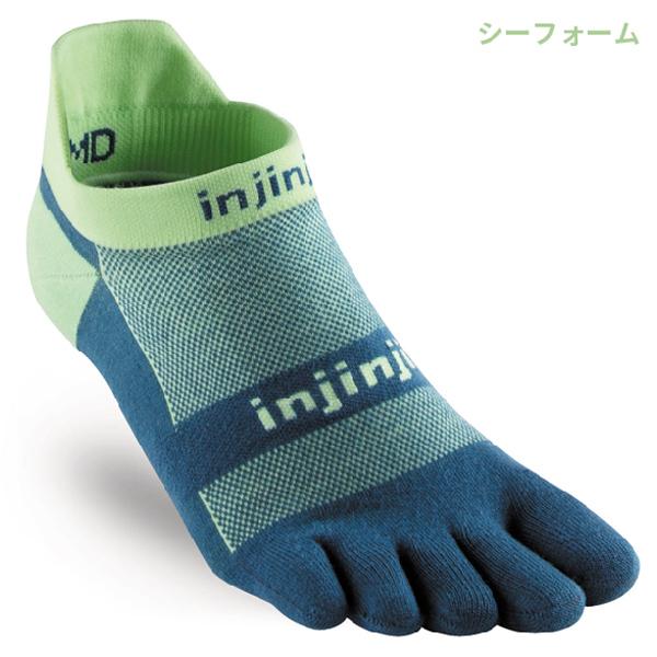 injinji(インジンジ) ラン ライトウェイトノーショウ 201110【メール便発送可能】