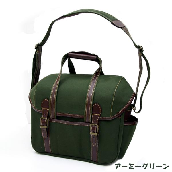 oxtos(オクトス) 帆布ショルダーバッグ HPS-16500 (カメラバッグ兼用)【受注生産/納期2〜3週間】