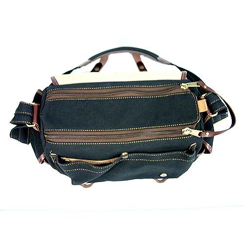 oxtos(オクトス) 帆布ショルダーバッグ HPS-13800 (カメラバッグ兼用)【受注生産/納期2〜3週間】