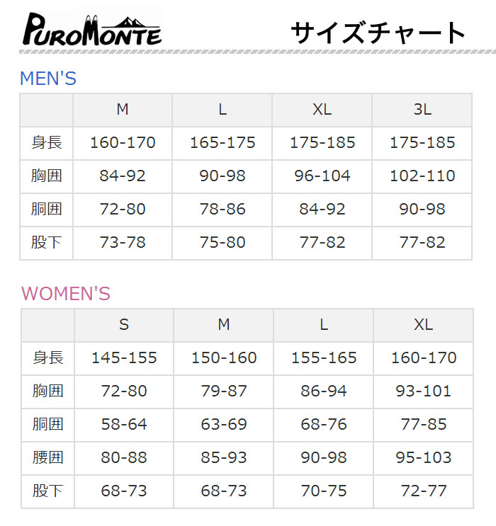 【30%OFF】PUROMONTE(プロモンテ)ゴアテックスレインスーツウィメンズ SR118W