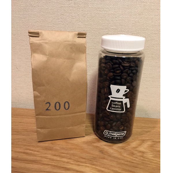 nalgene(ナルゲン) コーヒービーンズ キャニスター150g (0.5L)