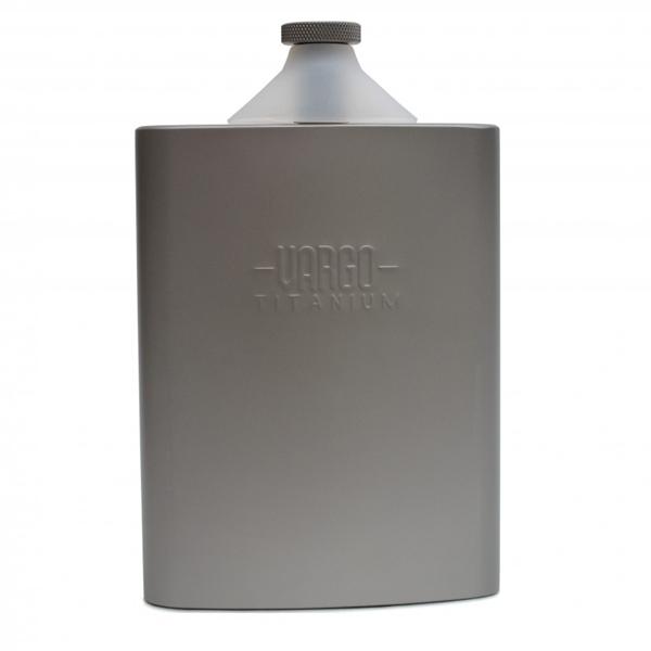 VARGO(バーゴ)チタニウム ファンネルフラスコ T-447【oxtosオリジナル豚革ケース付】