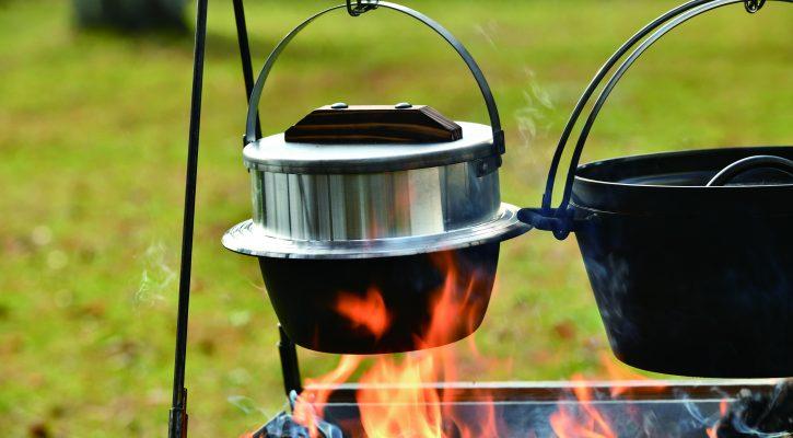 UNIFLAME(ユニフレーム) キャンプ羽釜 3合炊き 660218