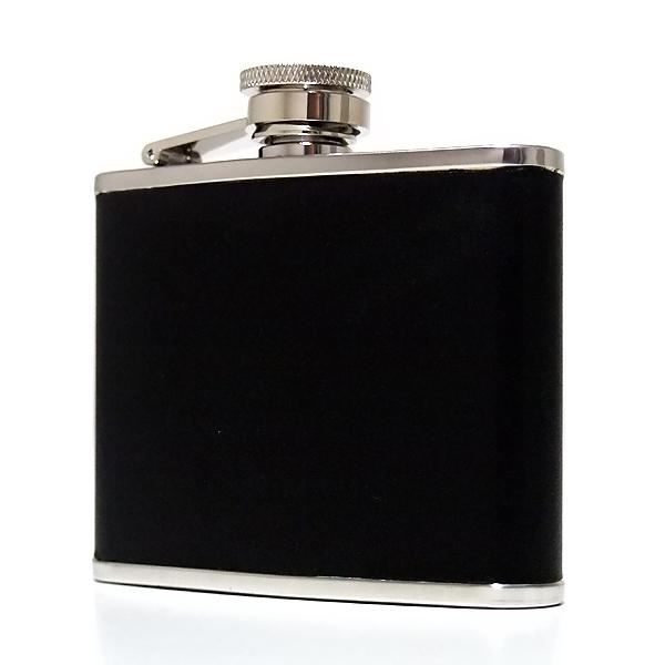 【20%OFF】oxtos(オクトス)ウィスキーボトル ブラック4oz  OX-003