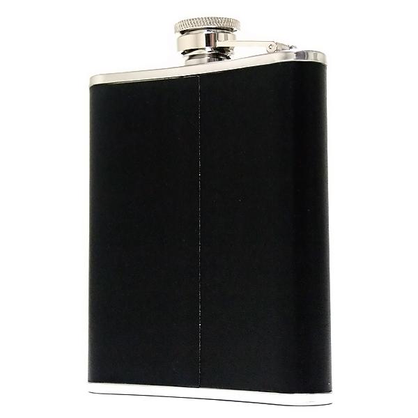 【20%OFF】oxtos(オクトス)ウィスキーボトル ブラック6oz  OX-004