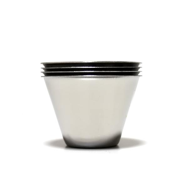 ウィスキーカップ4P ブラックケース付【OX-005】