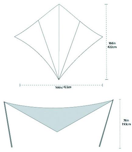 【30%OFF】BIG AGNES(ビッグアグネス) ディープクリークタープS TDCTSM15