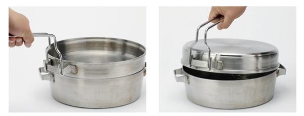 SOTO(ソト) ステンレスダッチオーブン 10インチ デュアル&10インチハーフ 専用ハンドリフター ST-901