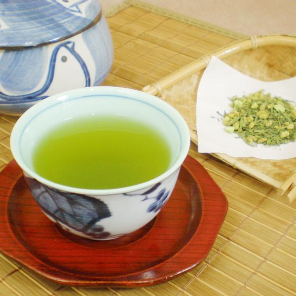 【抹茶入り玄米茶】高草100g