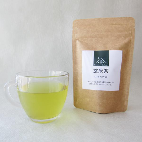 玄米茶ティーバッグ(2g×10袋) 静岡県産