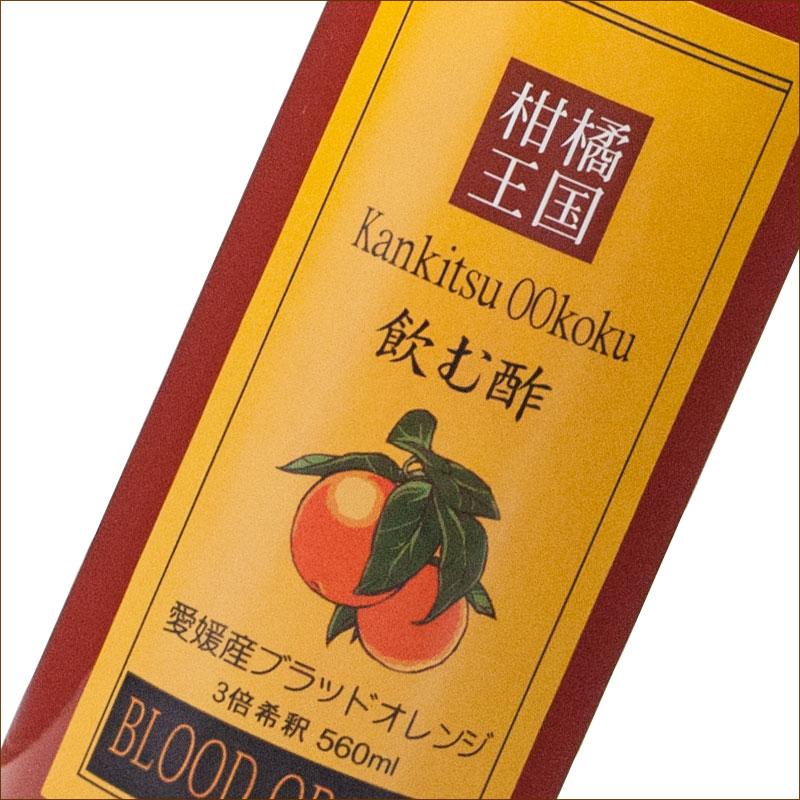 柑橘ビネガー(飲む酢 ブラッドオレンジ)(希釈用) 560ml