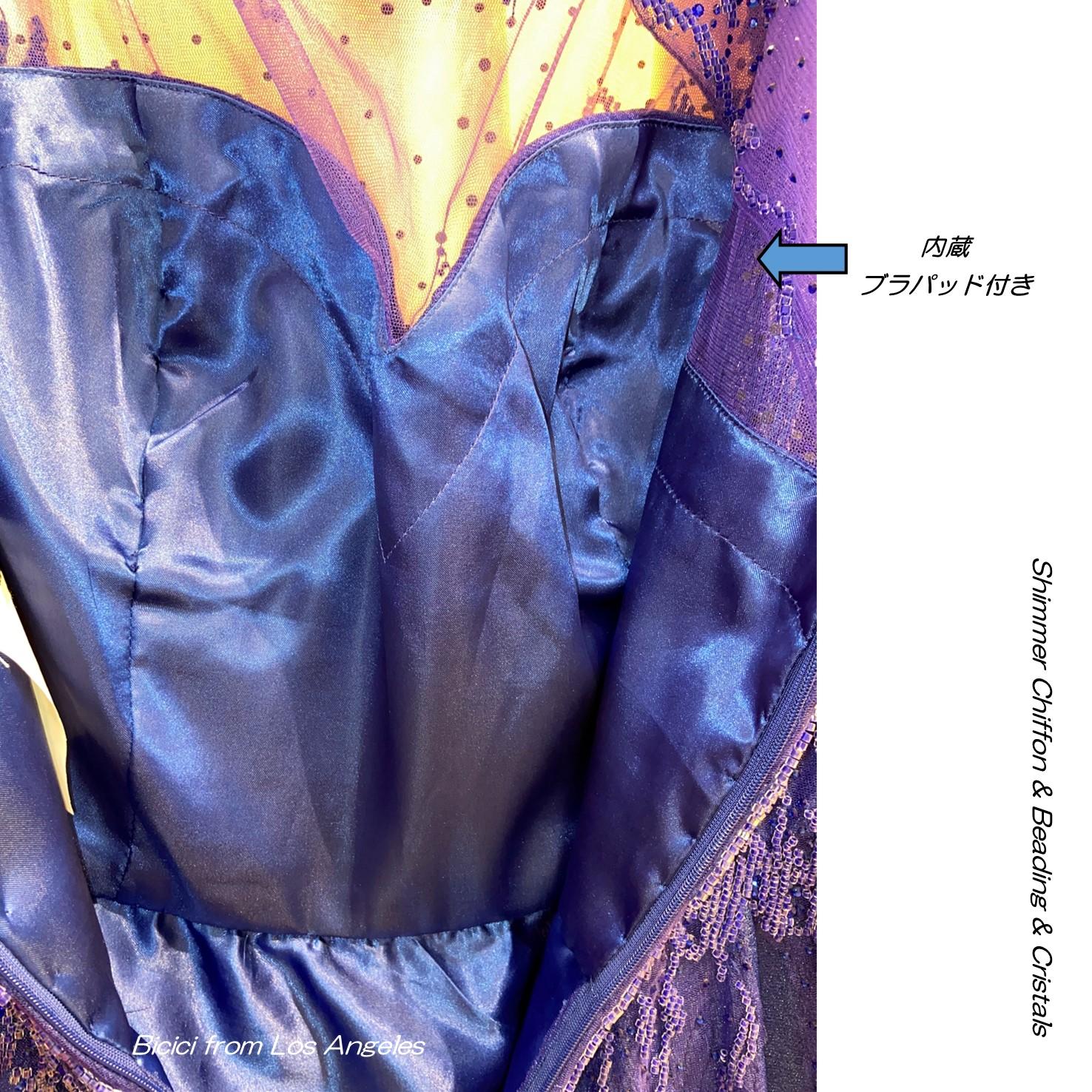 インポートドレス 袖付 エンパイアドレス マザーオフブライド シフォン ビーズ メタルカラー ロイヤルブルー 演奏会用ドレス 発表会ドレス 演奏会ピアノ パーティドレス ジャズ シャンソン イブニングドレス ステージドレス パーティ
