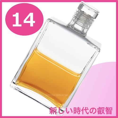 ボトル 50ml 14番  新時代の知恵 (クリアー/ゴールド)