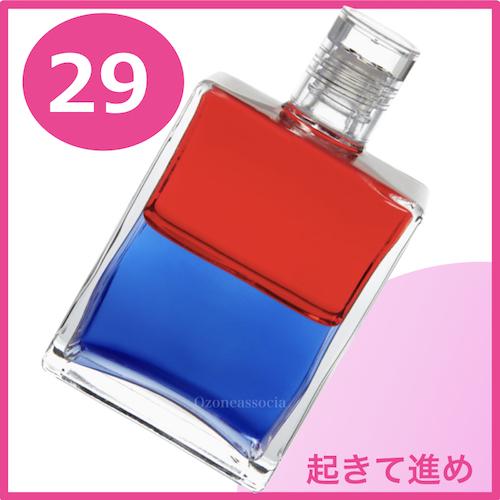 ボトル 50ml 29番  起きて進め (レッド/ブルー)