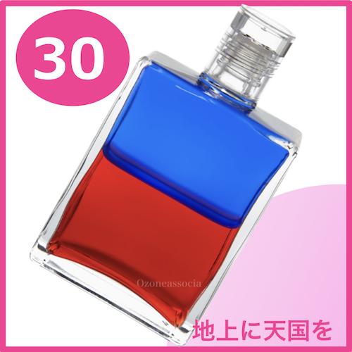 ボトル 50ml 30番  地上に天国を (ブルー/レッド)