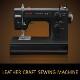 【送料無料】ジャノメミシン LC7500K LC-7500K  レザー押え、レザー用針標準付属!フットコントローラー操作!ハードケース付! ミシン 本体 初心者
