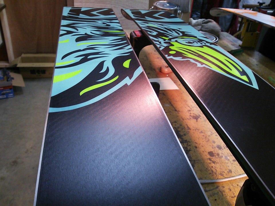プレチューンナップ (購入時/手仕上げ) スキー スノーボード: