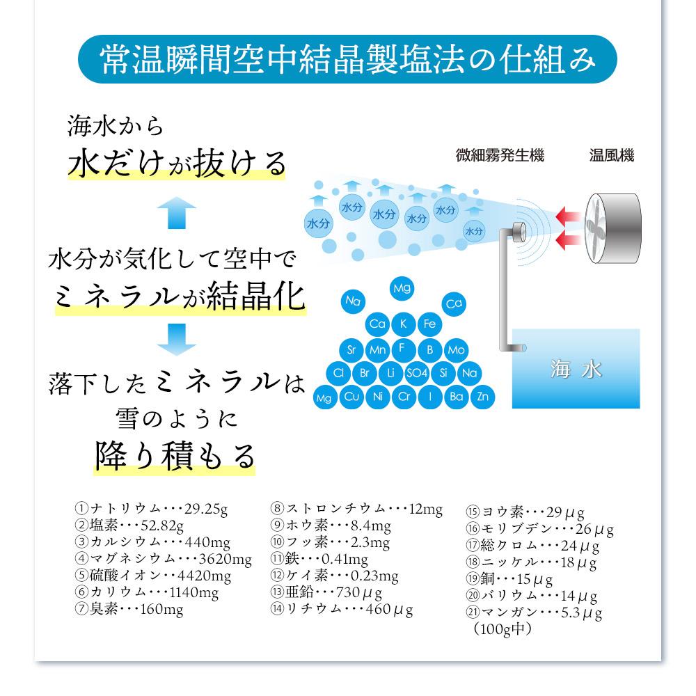 海のミネラルでできた塩 ぬちまーす クッキングボトル(150g)