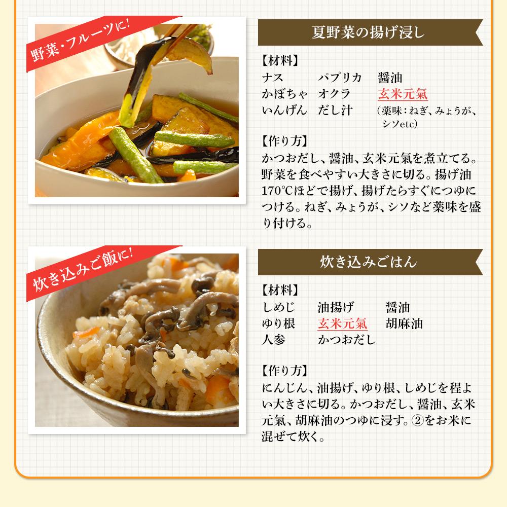玄米元氣(玄米発酵調味料)