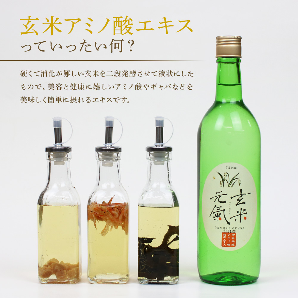 【定期宅配】玄米元氣(玄米発酵調味料)