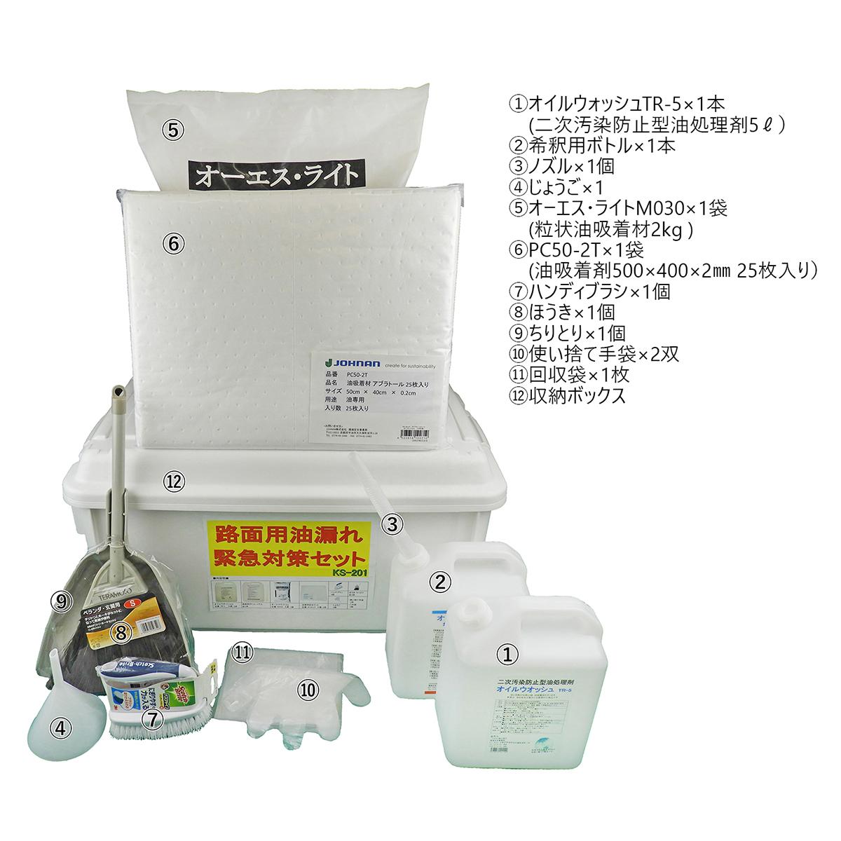 オイル漏れ時の緊急対策セット