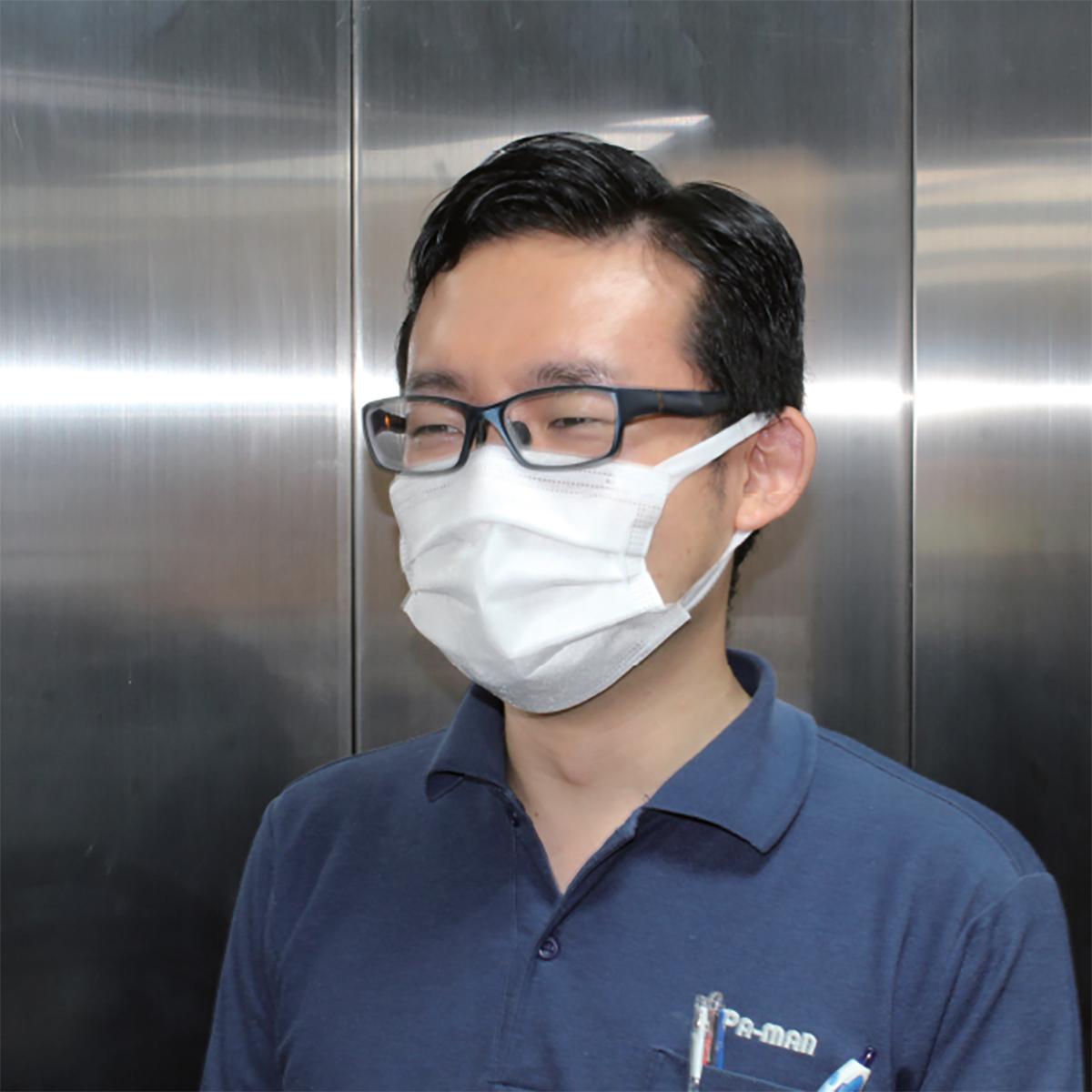 3層フェイスマスク 50枚入