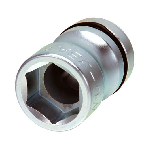 ソケット 6角 33mm 差込角1インチ 25.4mm 四角   新ISO規格 インパクトレンチ用