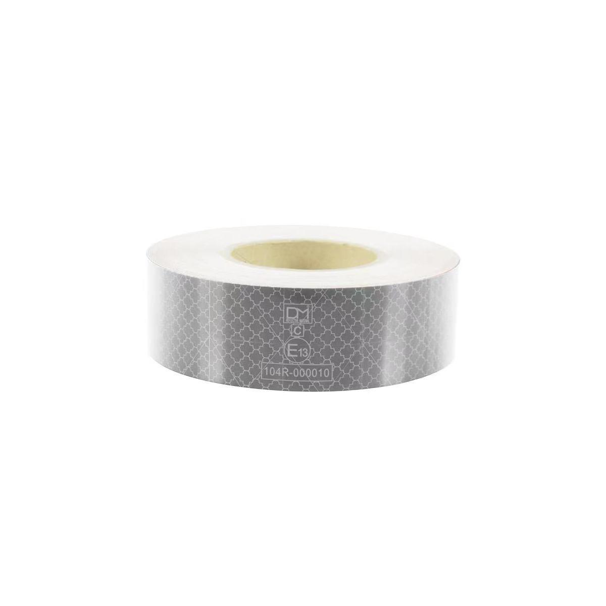 反射テープ 50mm×25m 白色 車両認識用 再帰性反射材