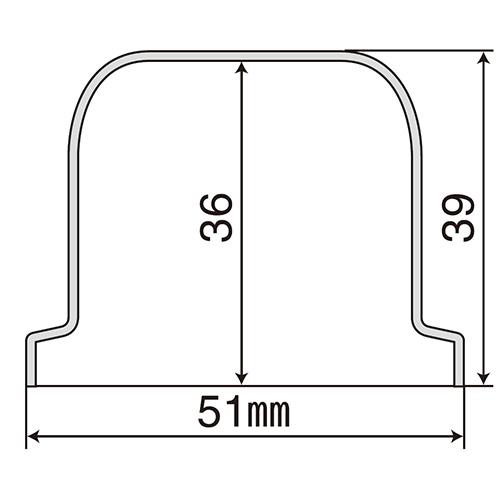 プラ・ナット・キャップ 33mm 10ヶ入 新ISO規格対応