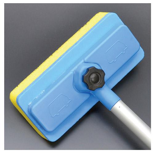 洗車スポンジ(伸縮式 通水タイプ 巾200×奥行90×高さ70mm)