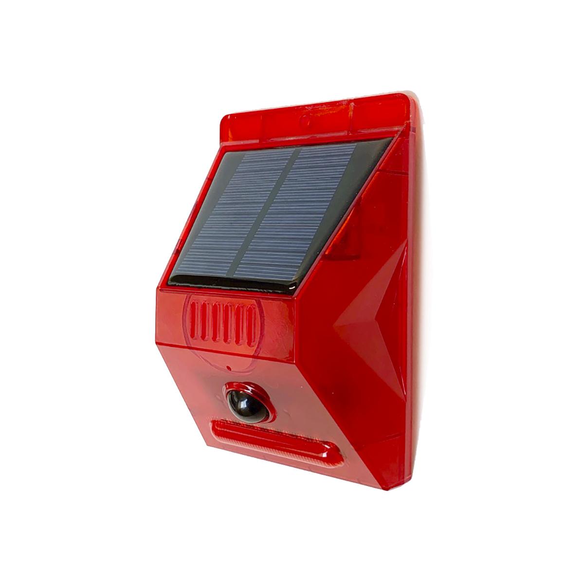 ソーラー充電式アラーム 警告灯