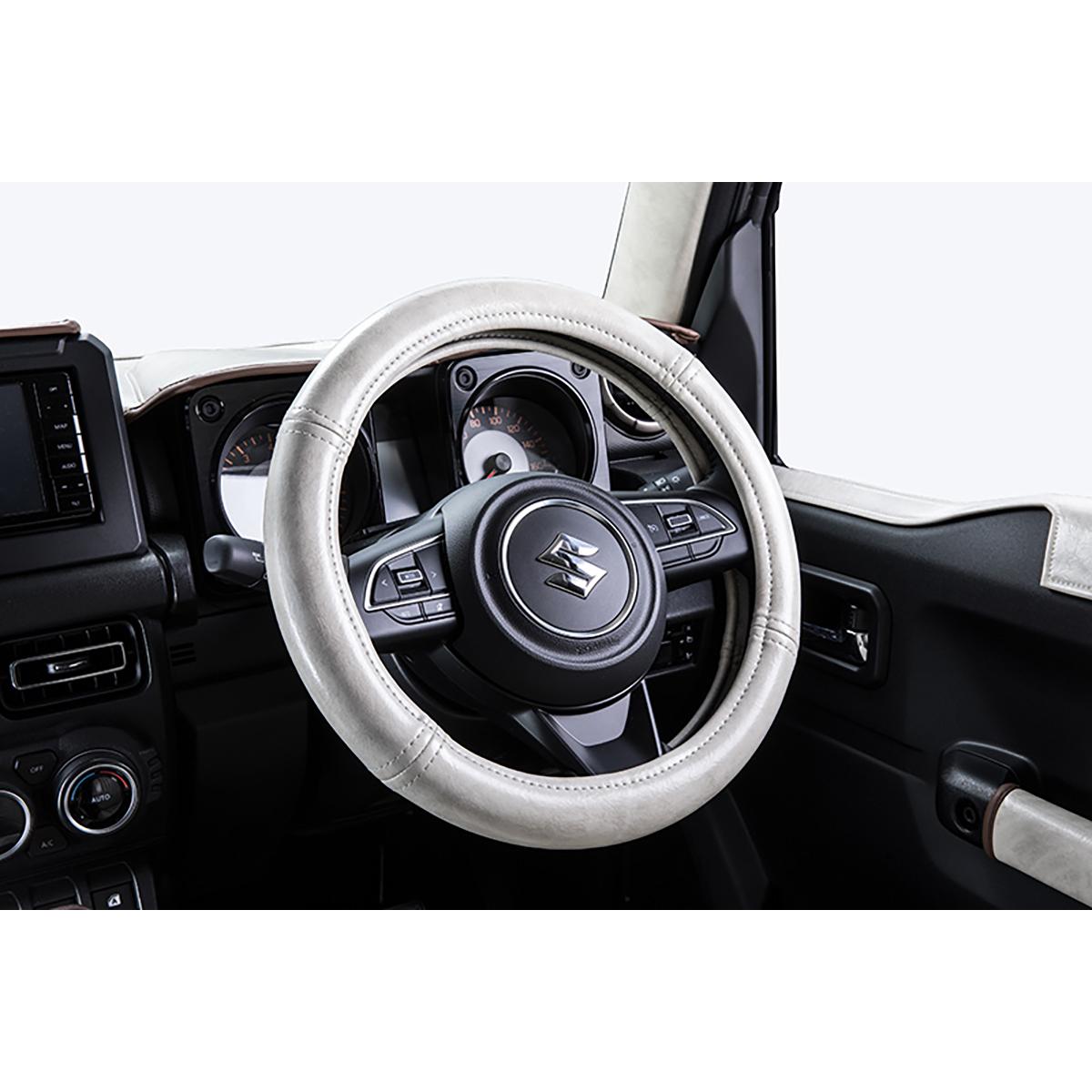 ハンドルカバー アンティーク 軽トラック 軽乗用車用 日本製