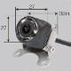 バック・カメラ サイドカメラ付 カラー ルームミラーモニタータイプ DC12〜24V 延長ケーブル15m付属