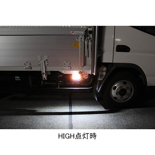 ツーウェイ・フラットマーカーランプ オレンジ DC24V LED 防水
