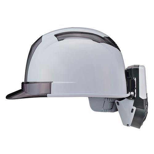 ヘルメット取付式送風機 乾電池タイプ 熱中対策