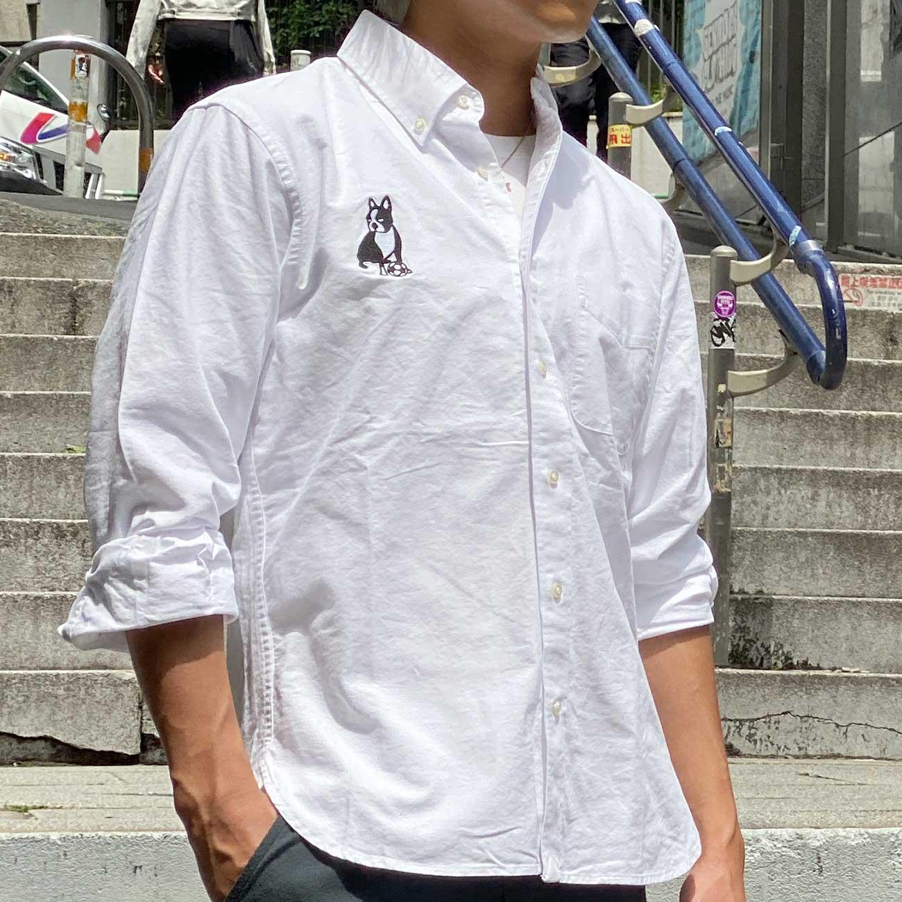 BRAND for whomシャツオックスフォードシャツ(ホワイト)