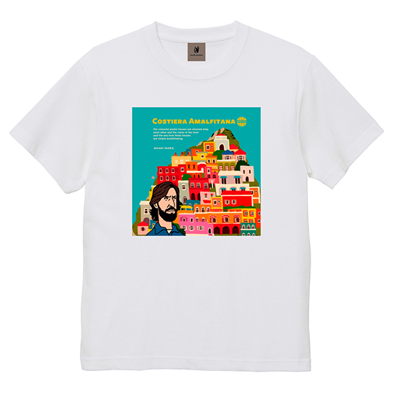 Amalfitana+12半袖TEE(ホワイト)