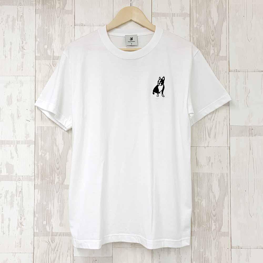 パイド半袖TEE(ホワイト)