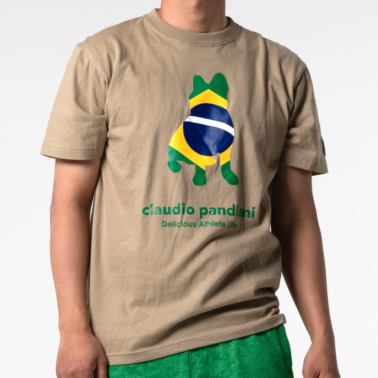ブラジリアンdog半袖TEE(サンド)