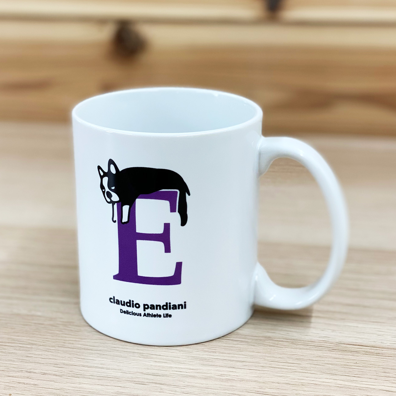 English de Pandiani+25E マグカップ