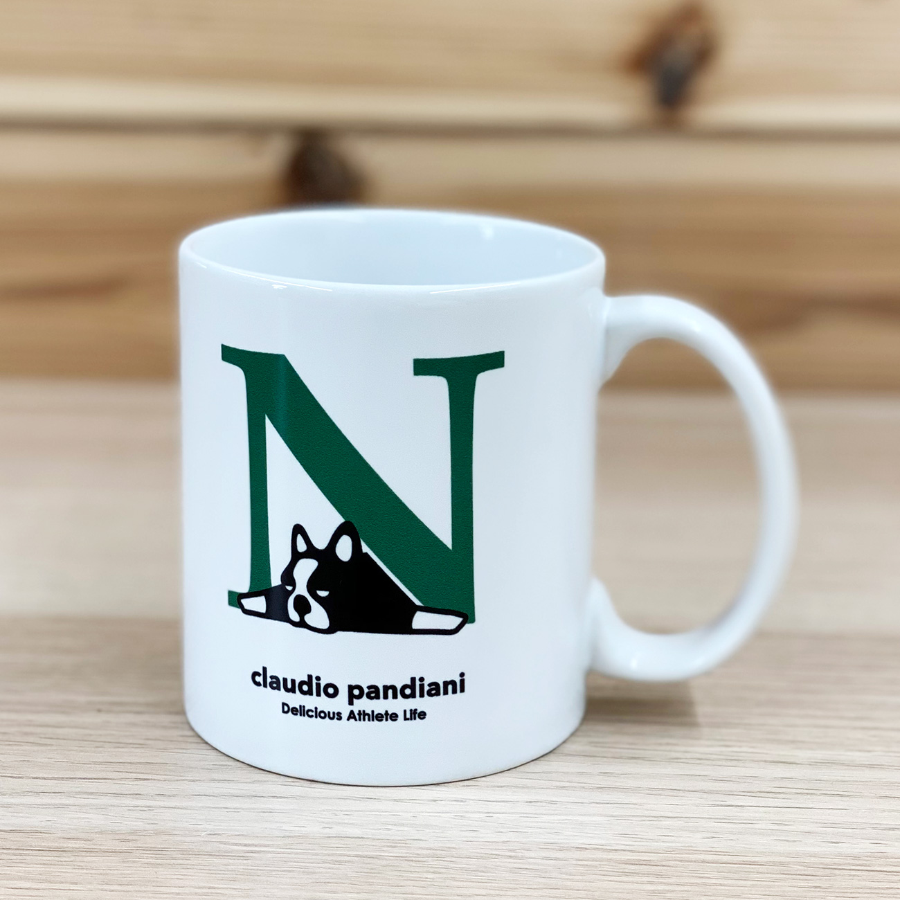 English de Pandiani+25N マグカップ