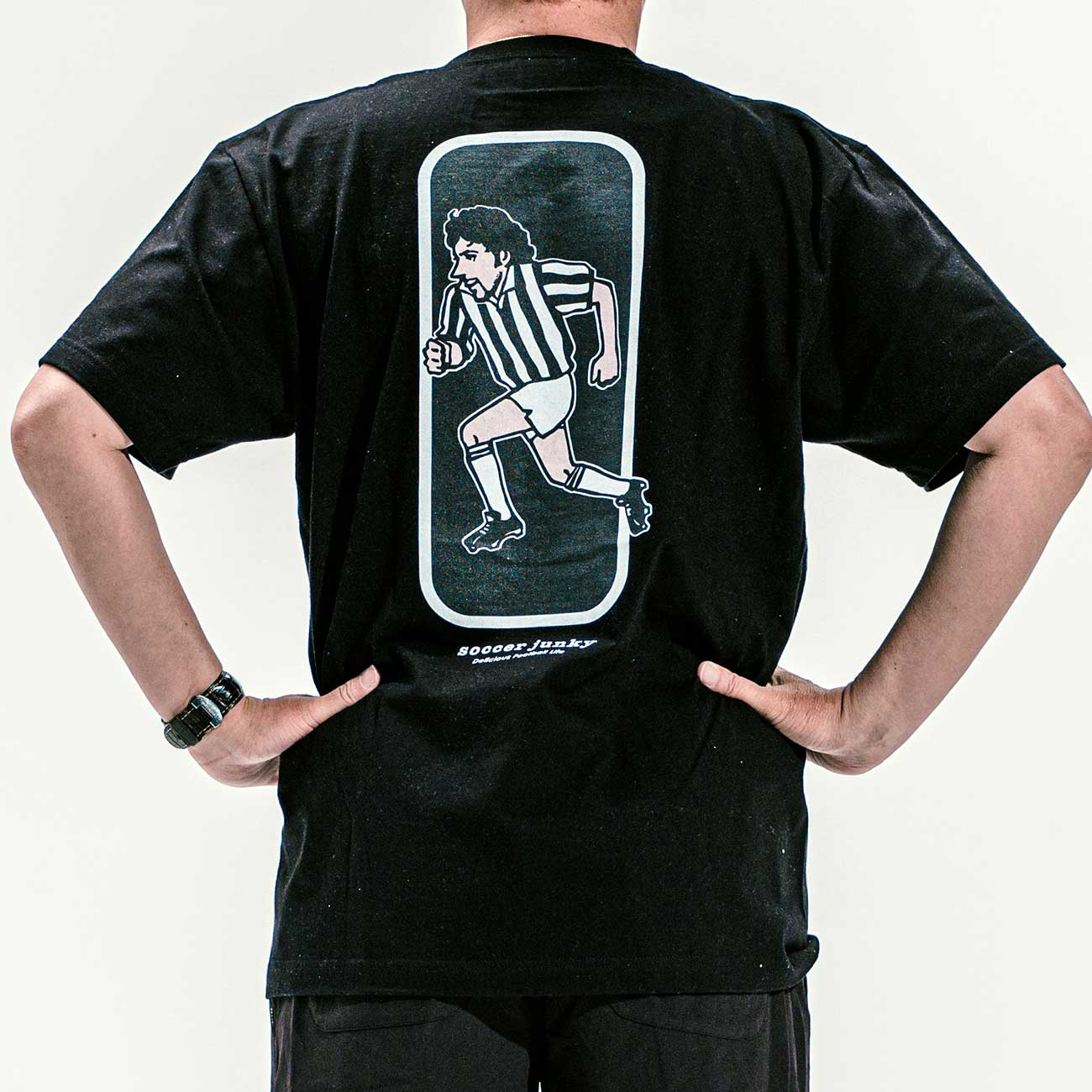 special 45°半袖TEE(ブラック)