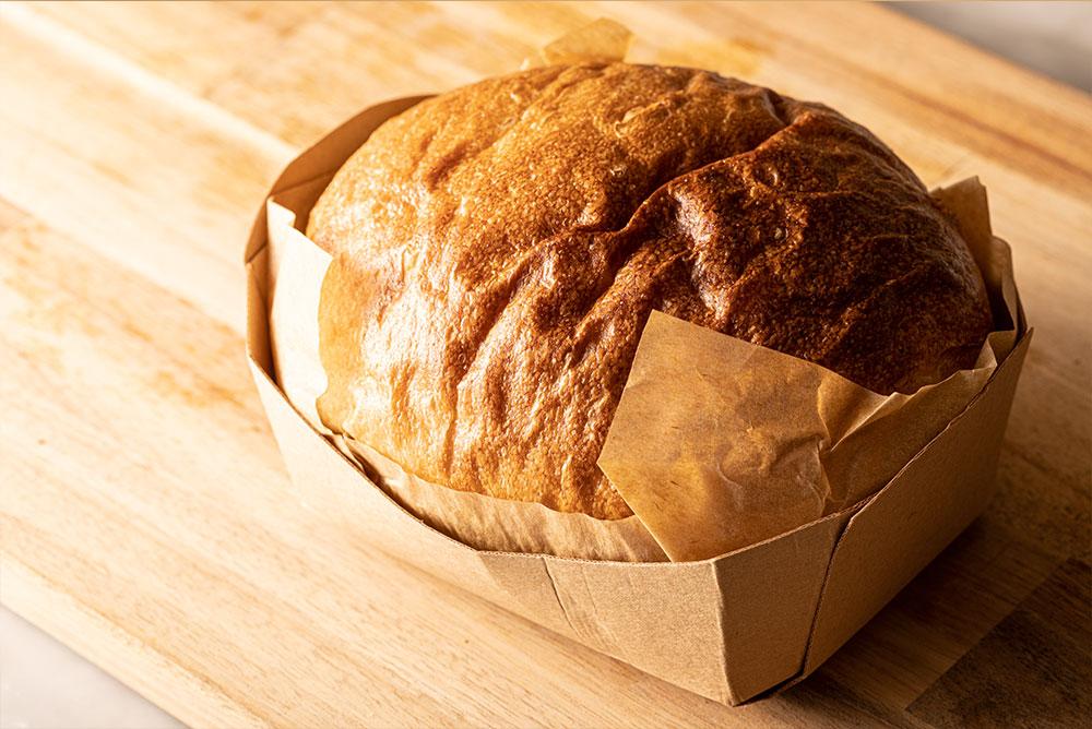 オーガニック小麦の食パン(2本)